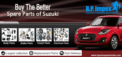 Buy The Better Spare Parts of Suzuki Vehicles