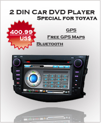 2 Din Fixed Digital Touch screen panel Car DVD Player HL