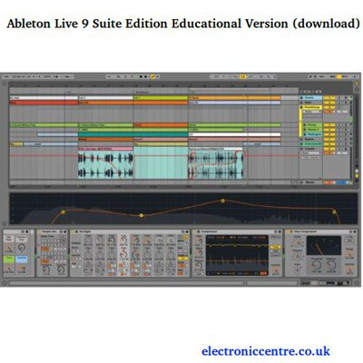 Take your music to the next level – Buy Ableton Live 9 Suite