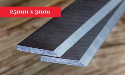 Buy online Planer Knives 25mm x 3mm