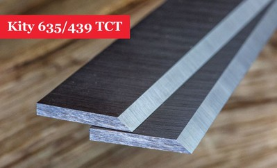 Kity 635/439 Planer Blades Knives Tungsten Carbide Tipped (TCT)