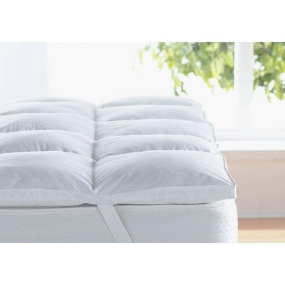 Buy White Goose Feather And Down Mattress Topper/ Feather Bed