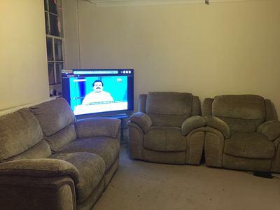 power reclining sofa set 2+1+1