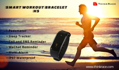Smart Workout Bracelet H5 – A Personal Workout Partner you can depend