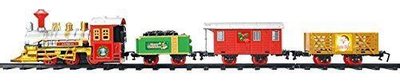 Christmas Workshop Battery Operated Christmas Train set Light Sound 81