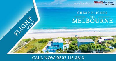 Book Cheap Flights Tickets to Melbourne From London