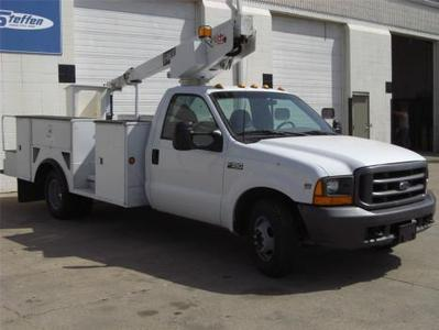 Used 2001 Ford F350 Xl Light Duty Truck For Sale in Iowa Sioux City