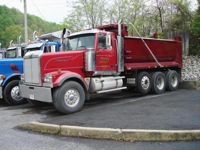 Used Western Star 4900 Trailer Dump Truck For Sale