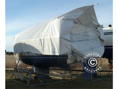 tarpaulin 6x12 m PE 300 g/m², White
