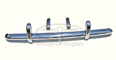 Triumph TR3A stainless steel bumpers, TR3 A 3A  TR3B 3B, brand new
