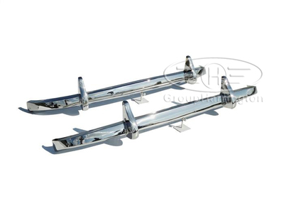 Mercedes W187 220 brand new stainless steel bumpers