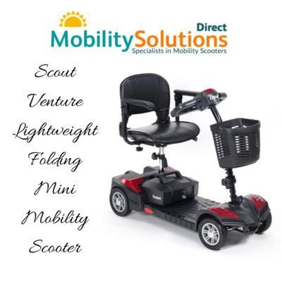 Purchase Scout Venture Lightweight Folding Mini Mobility Scooter