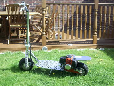 50cc kids  petrol scooter