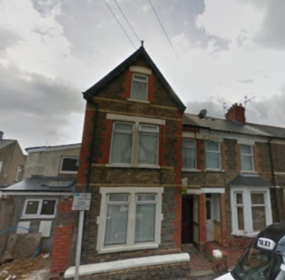 6 Bedroom House, 38 ALFRED STREET, ROATH, No fees.