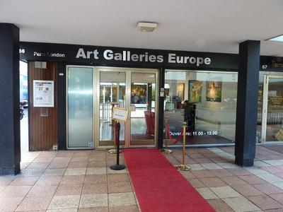 London and Paris Art Gallery for Hire