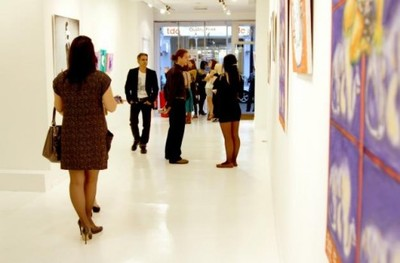 Art gallery for hire to rent London Mayfair West End Bond
