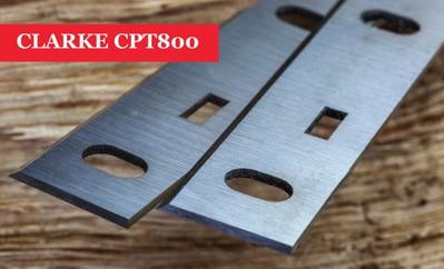 CLARKE CPT800 HSS PLANER BLADES PLANING KNIVES inc VAT WM1012