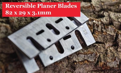 82 x 5.5 x 1.1mm Reversible Planer Knives For Hand