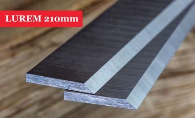 LUREM Planer Blades Knives 210mm Long