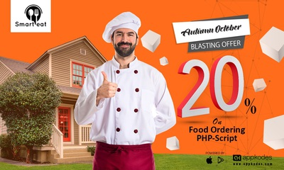 The 20 % offer from your food online