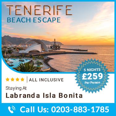 Tenerife Beach Escapes @ £259pp   Super Escapes Travel