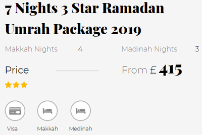 Ramadan Umrah Packages at Cheapest Price in the UK