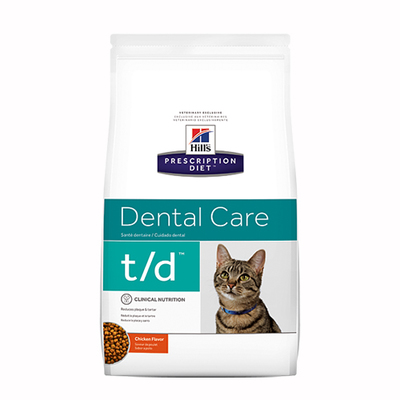 Buy Hills Prescription Diet t/d Dental Care Dry Cat Food