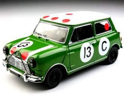 Morris Mini Cooper S Diecast Car Model 1:18