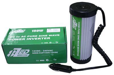 150W Cup Pure Sine Wave Inverter 12V