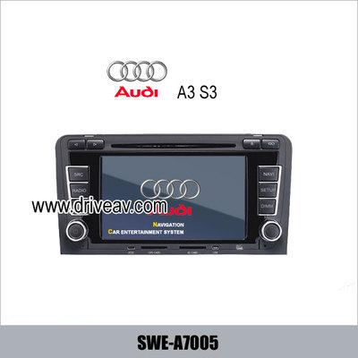 AUDI A3 S3 OEM radio Car DVD player,bluetooth,TV,GPS navigate