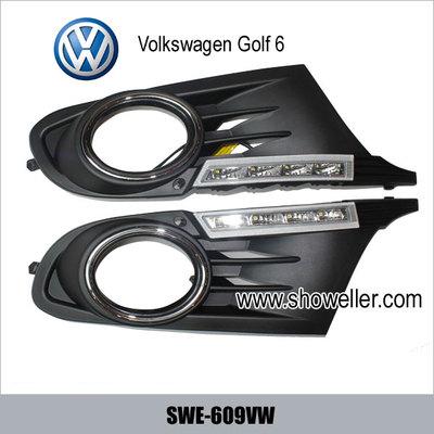 Volkswagen VW Golf 6 DRL LED Daytime Running Light SWE