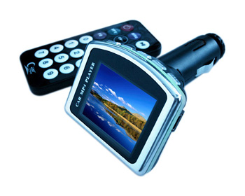 1.8 Inch CSTN Screen Car MP4 Players with SD Card Slot +FM transmitter