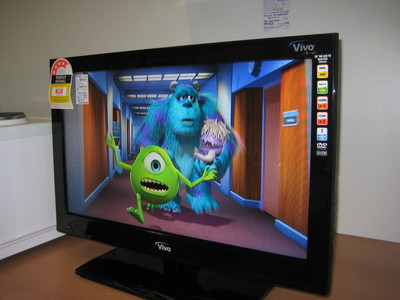 LCD TV (NEW) With Built in DVD For Sale Brisbane