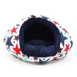 BURGER DESIGNER DOG BEDS STAR - NAVY BLUE (Pets & Animals - Birds) in Rocklin
