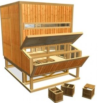 """Building Your Own Durable, Secure and Practical Chicken Coop Has Never Been Easier"" (Pets"