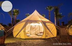 Glamping in NZ at Lotus Belle Tents