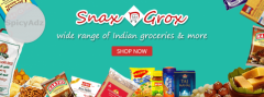 Online Indian Grocery Store In The USA - Snaxngrox.Com
