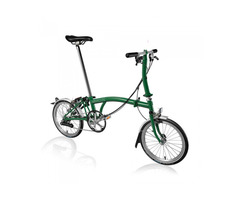 BROMPTON STEEL S6L FOLDING BIKE WITH MUDGUARDS (World Racycles)