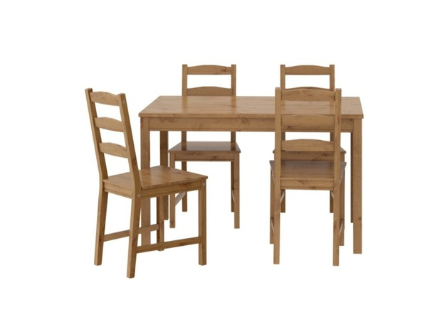 IKEA Solid Pine table and 4 chairs RRP £89 in Aylesbury