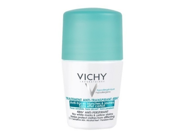 Vichy 48hr Anti-Perspirant Roll On No Marks 50ml at  £8.29  in Barnet