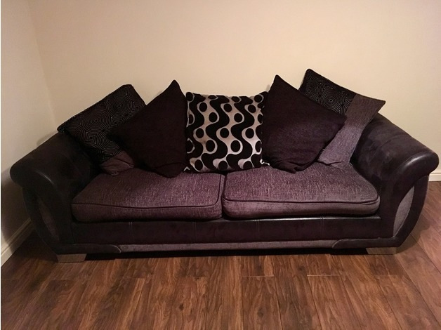 Sofa & Swivel Chair in Barnsley