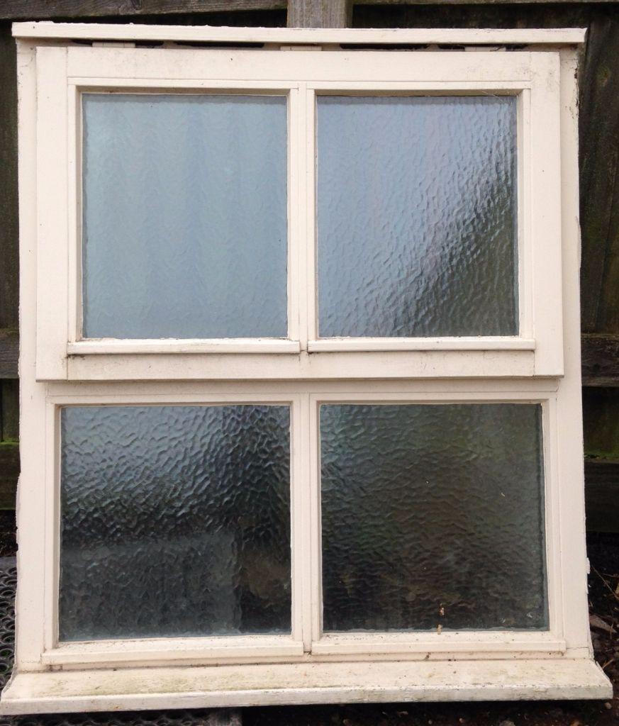 jeld wen Bath room double glaszed wooden window 900mm x 1050mm in  Bath