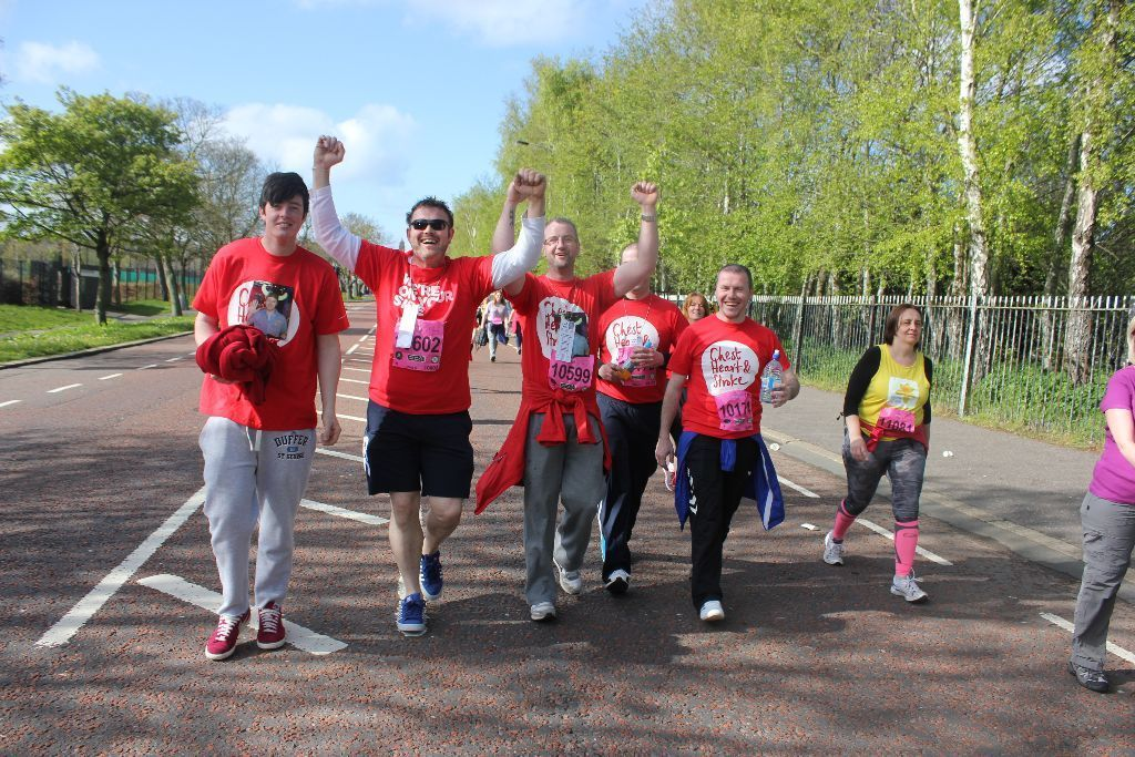 RUN, WALK OR RELAY Belfast City Marathon for Northern Ireland Chest, Heart and Stroke in 