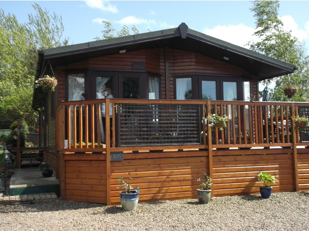 A 3bed Timber Lodge in Berwick Upon Tweed