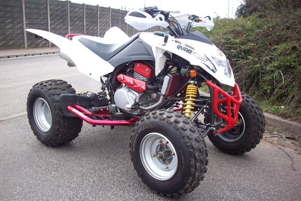 SMC Quadzilla 300 quad bike 2014 14 reg Road legal with extras in 