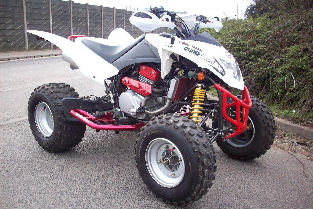 SMC Quadzilla 300 quad bike 2014 14 reg Road legal with extras in  Washwood Heath