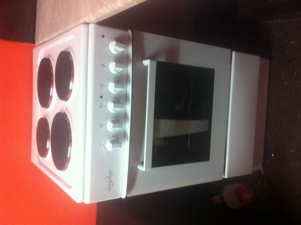 Brand new not used with guaranty. Statesman electric cooker and oven. in 