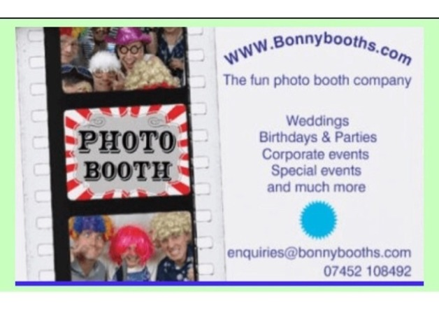Photo booth hire from £200 in Bonnyrigg