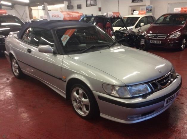 Saab 9-3, 2000 (W), Manual Petrol, 116,058 miles in Bootle