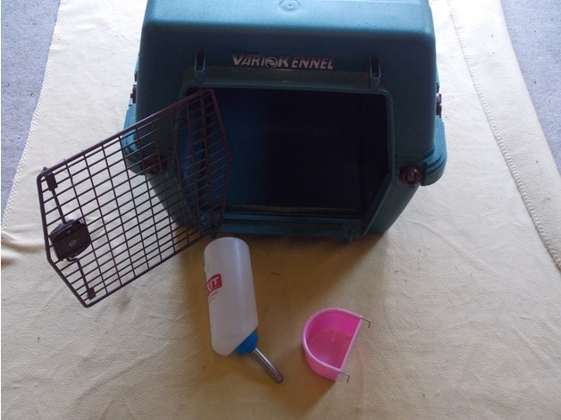 pet carring cage/kennal by varrie/air line approved in Brecon - 1